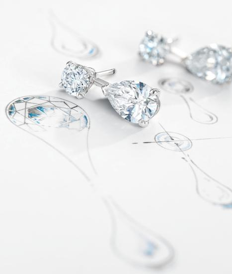 DE BEERS DROPS OF LIGHT系列手绘图